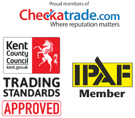 Gutter cleaning accreditations, checktrade, Trusted Trader, IPAF in Margate